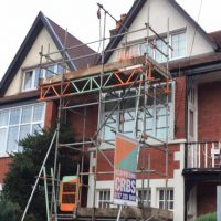 domestic place scaffolding for