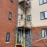 CRBS commercial landlord contracts south west scaffold render windows roofing