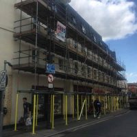 shops Commercial CRBS south west Scaffold